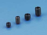 Du-Bro 4MM x 6 Socket Set Screws (4/pkg)