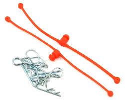 Du-Bro Body Klip Retainers (Orange) 2/pkg.