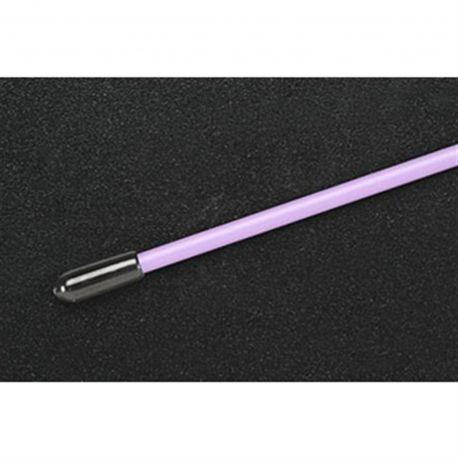 Du-Bro Antenna Tube w/ Cap (Purple) (1/pkg.)