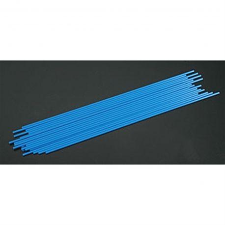 Du-Bro Antenna Tube (Blue) (24/pkg.)