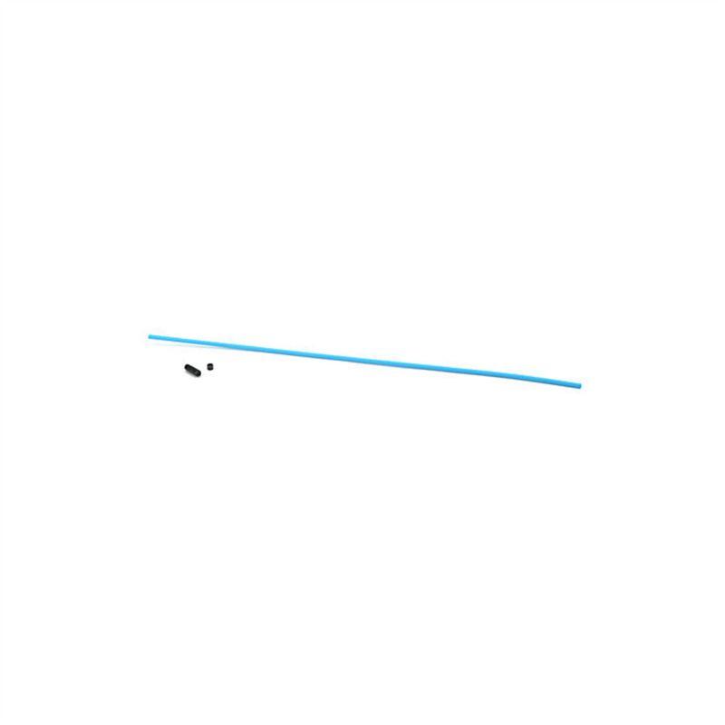 Du-Bro Antenna Tube w/ Cap (Neon Blue) (1/pkg.)