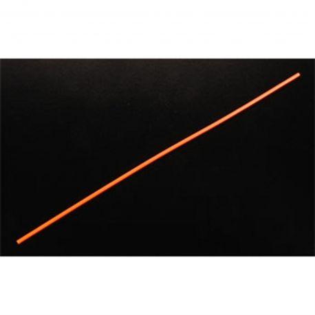 Du-Bro Antenna Tube w/ Cap (Neon Orange) (1/pkg.)