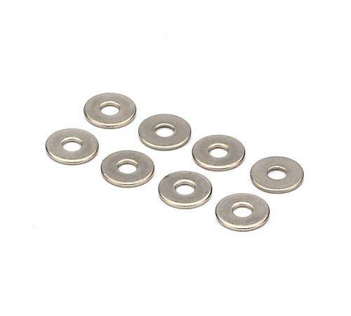 Du-Bro #6 Stainless Steel Flat Washer (8/pkg)
