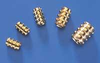 Du-Bro 6-32 Threaded Inserts (4/pkg)