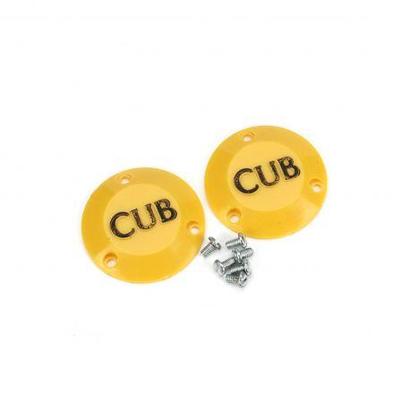 Du-Bro 1/4 Scale Cub Caps (2/pkg)