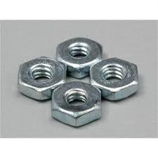 Du-Bro 2-56 Steel Hex Nuts (QTY/PKG: 4 )