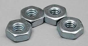 Du-Bro 4-40 Steel Hex Nuts (QTY/PKG: 4 )