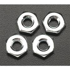 Du-Bro 10-32 Steel Hex Nuts (QTY/PKG: 4 )