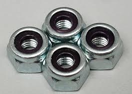 Du-Bro 10-32 Nylon Insert Lock Nut (QTY/PKG: 4 )
