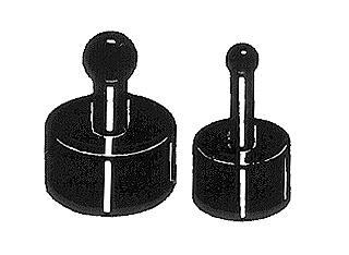 Du-Bro Fuel Line Plugs (2 Small, 2 Large) (QTY/PKG: 4 )