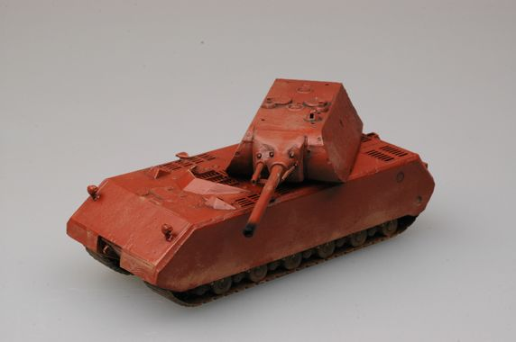 "Easy Model 1/72 ""MOUSE"" Tank - German Army"