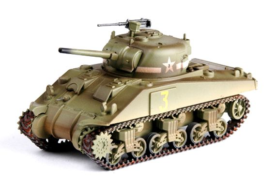 Easy Model 1/72 M4 Tank (Mid.) - 1st Armored Div.