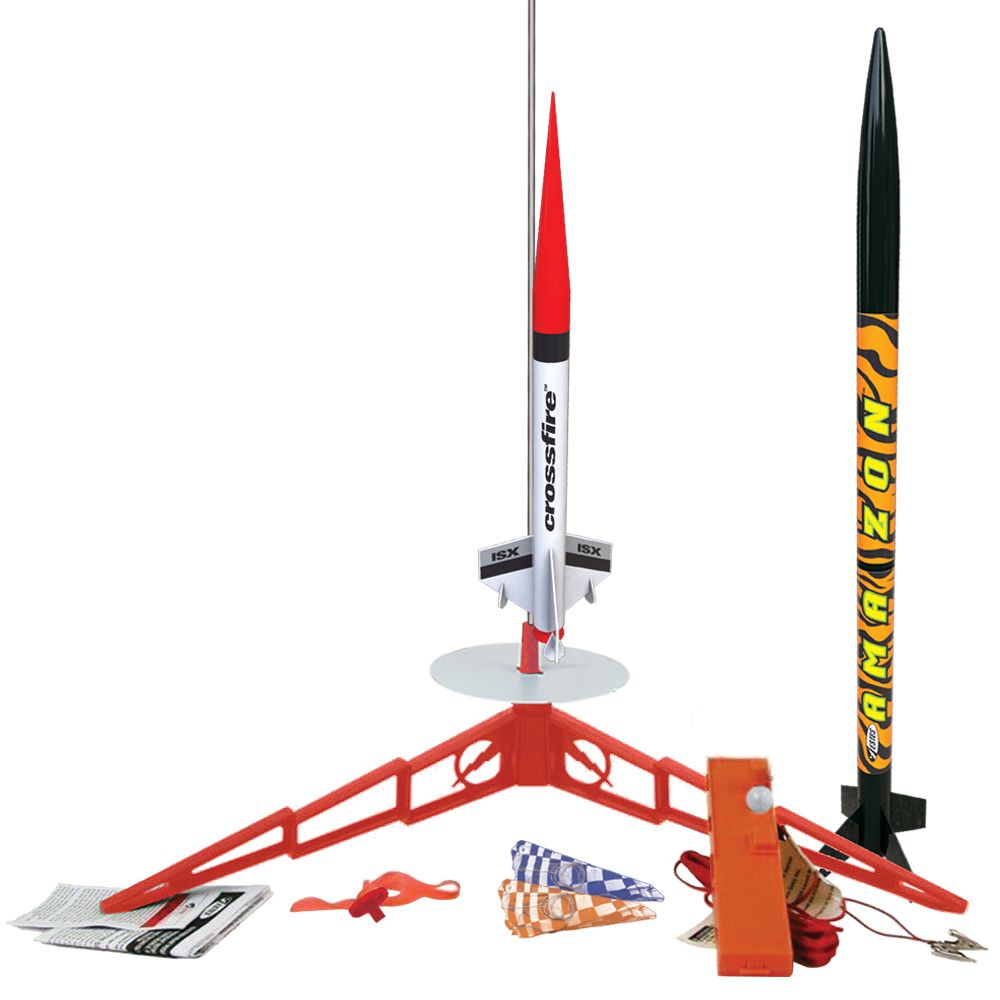 Estes Rockets Tandem-X (2 rockets) (English Only) - B/I