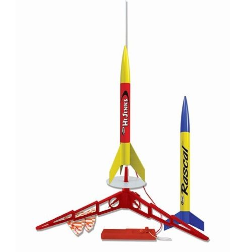 Estes Rockets Rascal & HiJinks (2 rockets) (English Only) Beginn