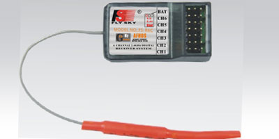 Flysky 2.4Ghz 6 Channel Receiver for Aircraft