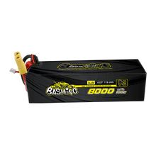 Gens Ace - 1033 - 8000mAh 4S2P 14.8v 100C LiPo EC5 Plug for Arrma 155x52x44mm