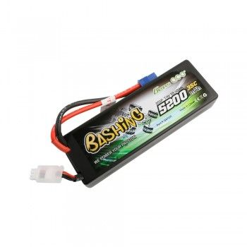 Gens Ace - 711 - 5200mAh 7.4V 35C 2S1P Hard Case Lipo Battery Pack with EC3 138x46x25mm