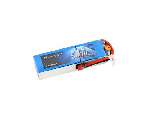 Gens Ace - 126 - 5000mAh 4S1P 14.8V 45C LiPo Deans Plug Soft Case 154x46x30mm