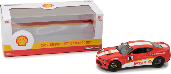 Greenlight 1/24 2017 Chevy Camaro SS Shell Oil