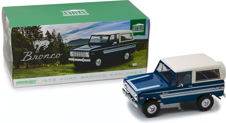 "Greenlight 1/18 1976 Ford Bronco ""Explorer Package"""