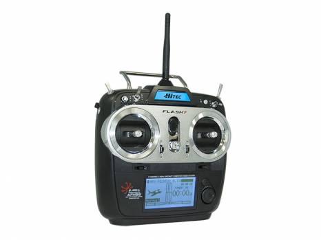 Hitec Radio Flash 7 TX 6ch Maxima