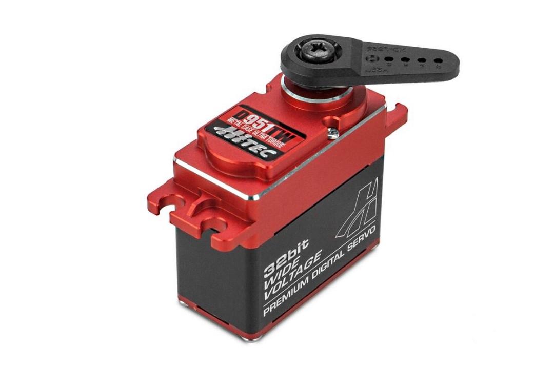 Hitec D-951TW 32-Bit, Metal Case, High Torque, Titanium Gear Servo 403oz-in 0.17sec@6.0V