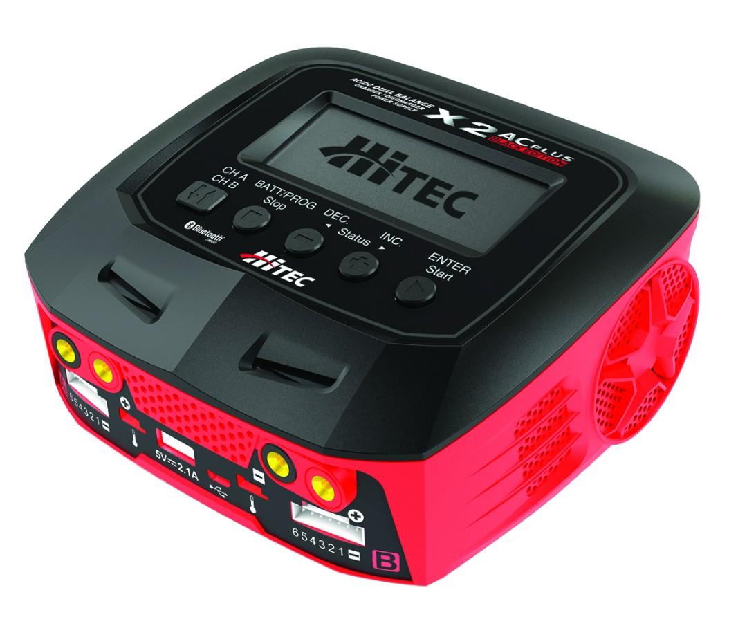 Hitec X2 AC Plus Black Edition Multi-Function Charger