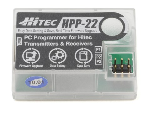 Hitec HPP-22 PC Interface Programmer for Hitec Transmitters & Receivers