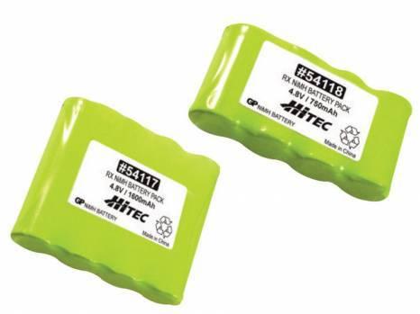 Hitec 750mAh 4.8v NiMH Battery Flat Pack