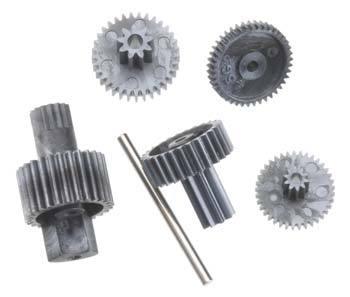 Hitec HS-45HB Karbonite Gear Set w/o 1st Gear