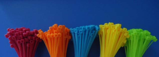 Cable Ties 5 colors 10cm 500 pieces/Set