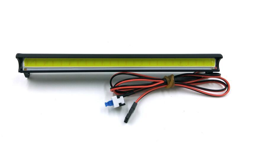 Light bar, 140mm, High voltage (10-12V),Aluminum housing