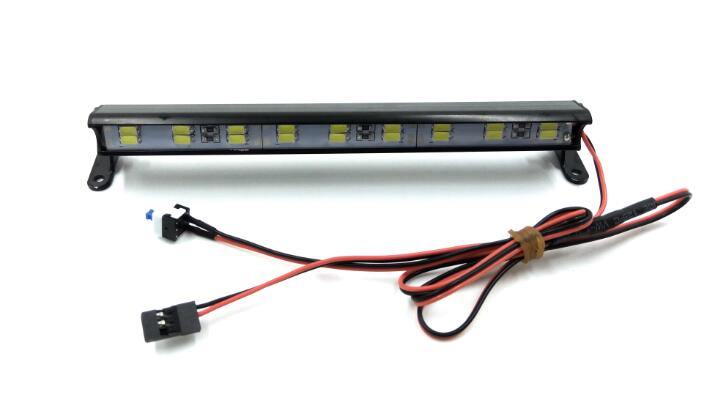 Light bar, 18 LED, High voltage (11-14V),Aluminum housing