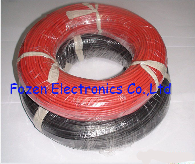 Wire 16AWG Silicone black 25Ft roll