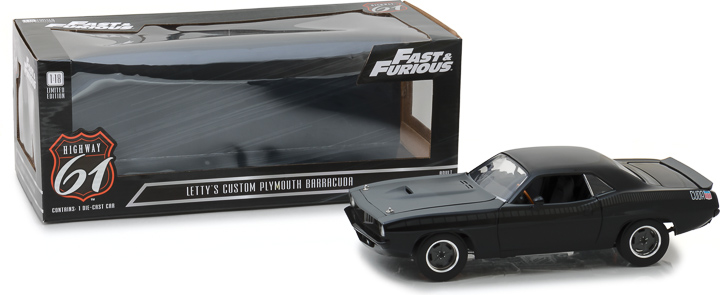 Highway 61 1/18 Fast & Furious - Fast 7 (2015) - Custom Plymout