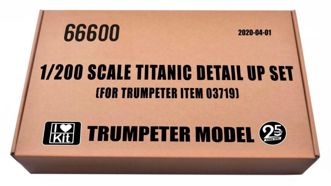 I Love Kit 1/200 Titanic Detail set for TRU03719 - Click Image to Close