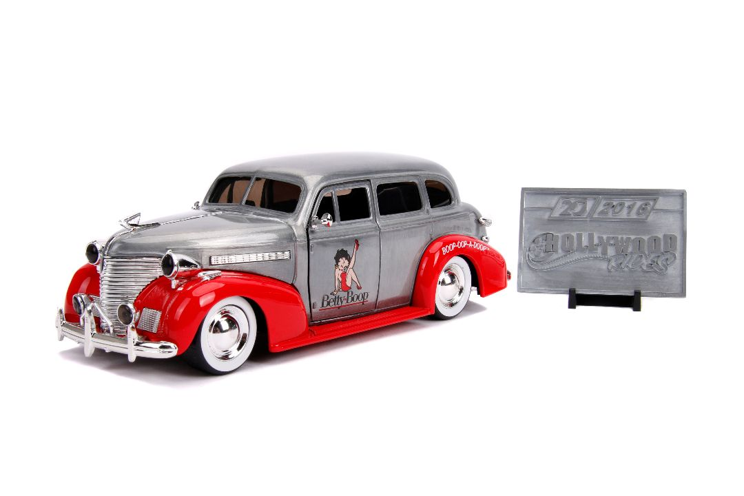 "Jada 1/24 ""Hollywood Rides"" 1939 Chevy Master Deluxe - 20th Anni"