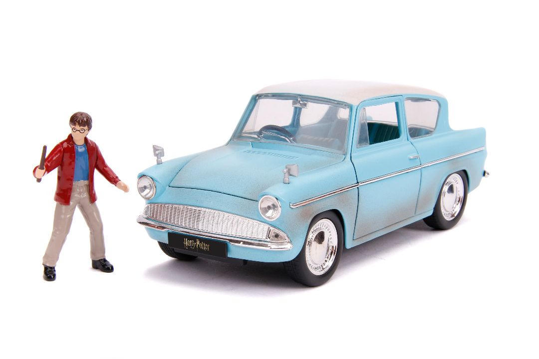 "Jada 1/24 ""Hollywood Rides"" 1959 Ford Anglia with Harry Potter"