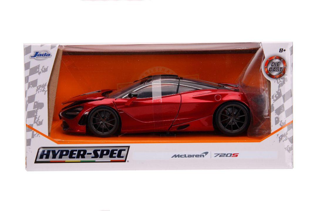 Jada 1:24 Window Box Hyper-Spec McLaren 720S Yellow