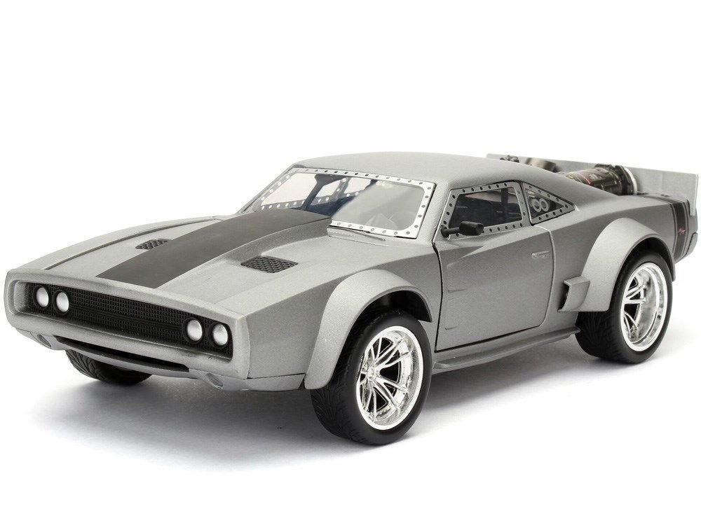 "Jada 1/24 ""Fast & Furious"" Dom's Ice Charger - Grey"