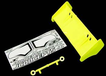 JConcepts Illuzion - 1/8th Buggy/Truggy wing (yellow)