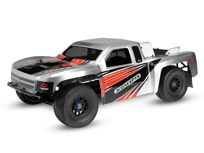 JConcepts Illuzion - 2012 Chevy Silverado 1500 SCT body - (Slash