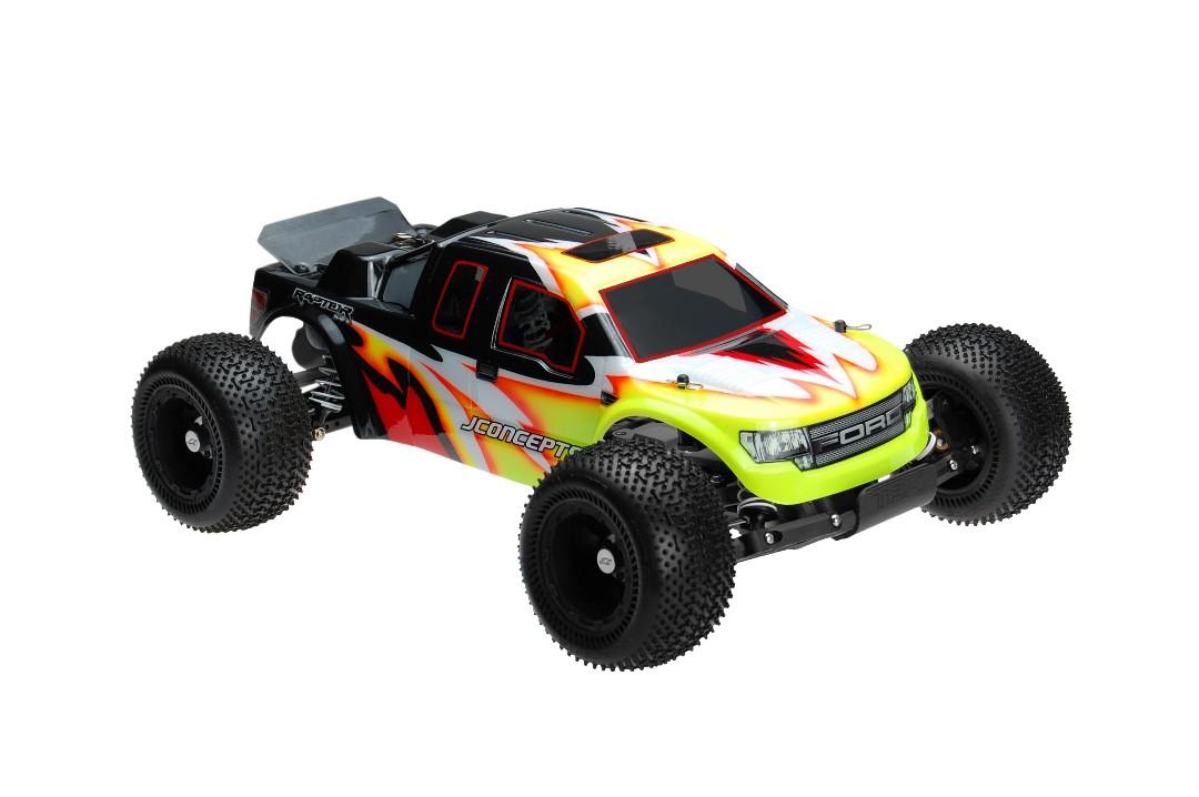 JConcepts Illuzion - Rustler XL-5 - 2011 Ford Raptor SVT body