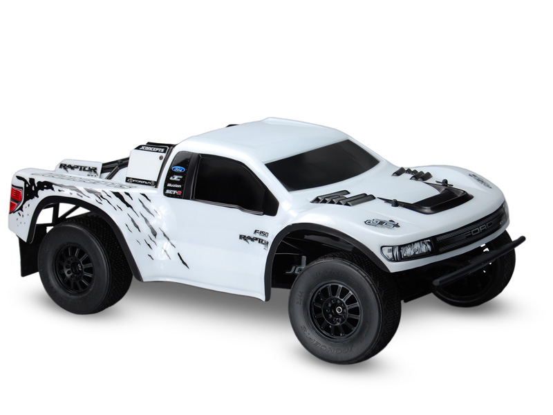 JConcepts Illuzion - SCT - Ford Raptor SVT - SCT-R body (Fits mo