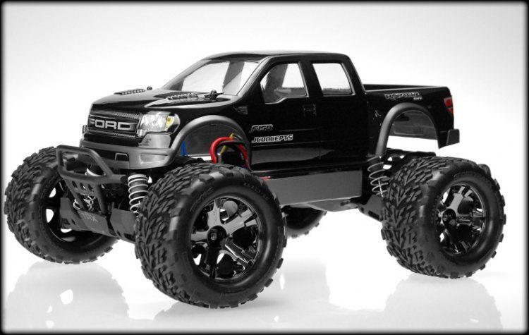 JConcepts Illuzion - Stampede 4x4 - Ford Raptor SVT Super Crew body