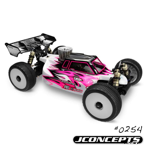 JConcepts Silencer - Hot Bodies D812 | D817 V2 | E817 body - Light-weight