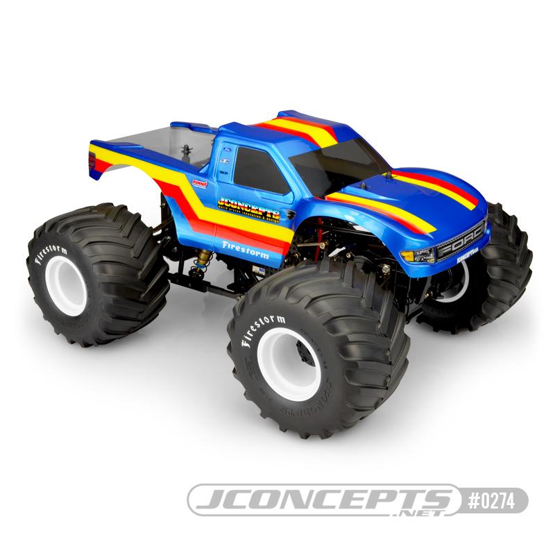 JConcepts 2010 Ford Raptor - MT body
