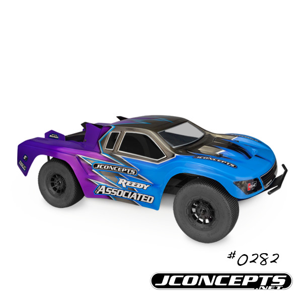 JConcepts HF2 SCT body - low-profile height (Fits - SC5M, TLR 22