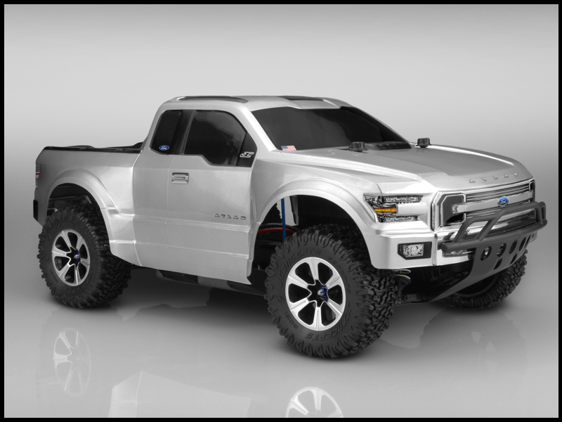 JConcepts Ford Atlas - SCT Absolute Scaler body (Fits Slash, Slash 4x4)