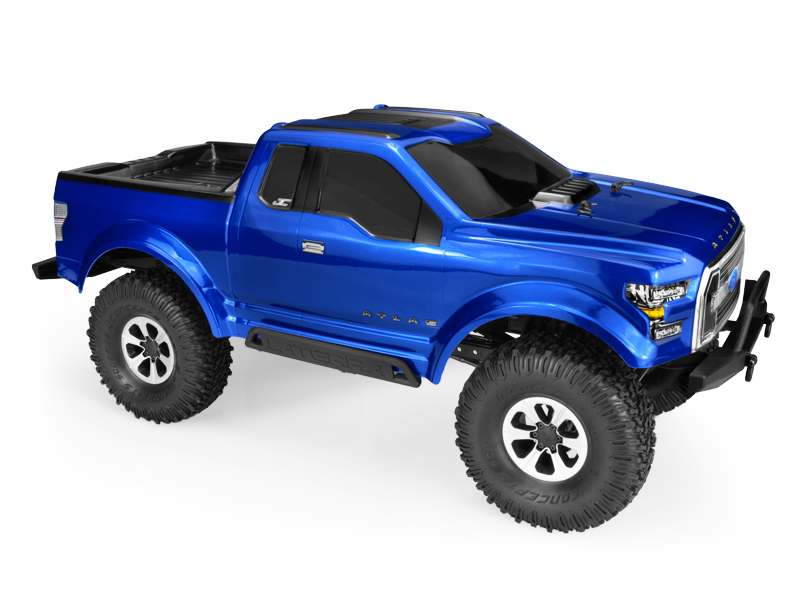 JConcepts Ford Atlas - Trail / Scaler body (Fits Vaterra and Axial 1.9
